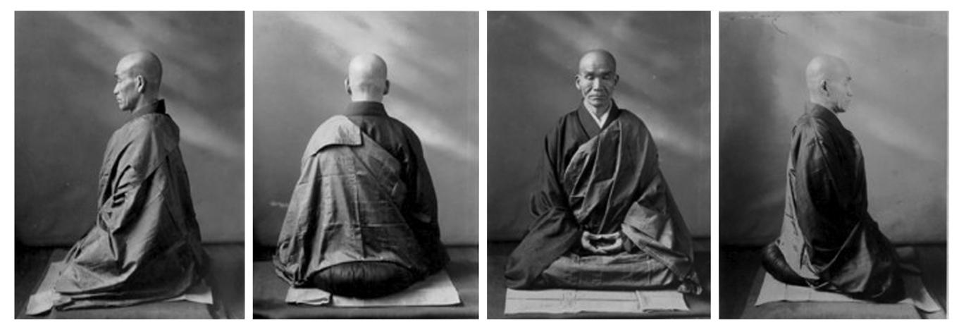 Kodo-sawaki-zazen-posture
